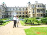 Audley End House 館裏の庭