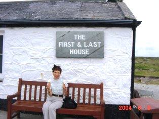 Land's End First and Last House