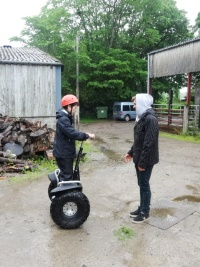 Scottish Segway